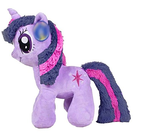 My Little Pony - Peluche Twilight Sparkle Chunky (violeta) 34cm - Calidad super soft: Amazon.es: Juguetes y juegos