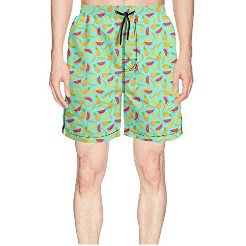 ZKDFOSPCCL Boys Pineapples Bananas Watermelon Summer Green Sweat ()