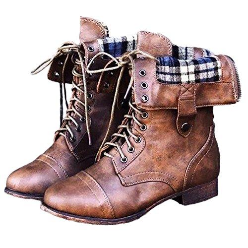 de Femme Chaussures Bottes Minetom Hiver R 6Aq08x