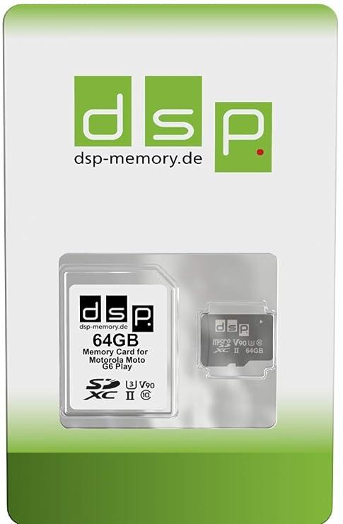 UHS-II V90 - Tarjeta de Memoria para Motorola Moto G6 Play (64 GB ...