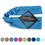Your Choice Cooling Towel - Golf, Workout, Gym, Fitness, Yoga, Camping, Hiking, Bowling, Travel, Outdoor Sports Towel for Instant Cooling Relief