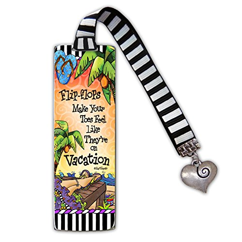 (Cathedral Art Flip-Flops ArtMetal Bookmark, 4 Inches High, TOR104 4