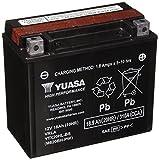 Yuasa YTZ AND YTX Maintenance-Free Battery black