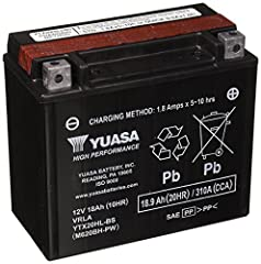 Yuasa is the worlds largest manufacturer of motorcycle batteries and has 50 years of expertise behind its product. Harley-Davidson, Honda, Kawasaki, Suzuki, Yamaha and many others fit Yuasa batteries to their bikes. Only Yuasa has the YuMiCRO...
