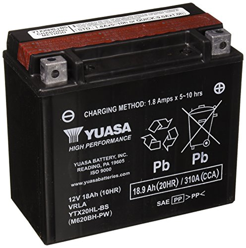 Yuasa YTX20HL-BS-PW Performance Battery