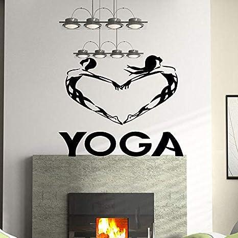 Corazón Buda Citas Namaste Tatuajes de Pared Yoga Mandala ...
