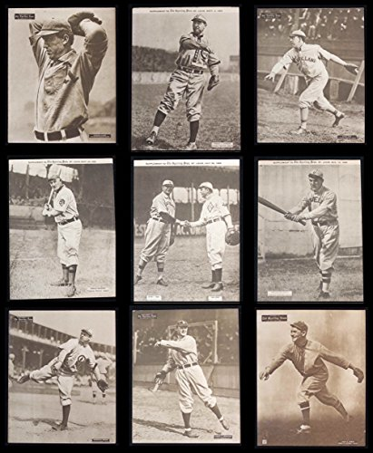 1909-13 M101-2 Sporting News Supplements NEAR Complete Set (Baseball Set) Dean's Cards 4 – VG/EX