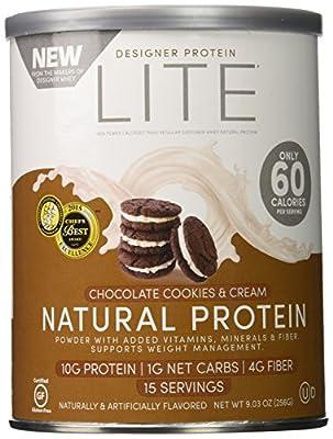 Designer Protein Lite Powder, 9.03 Ounce