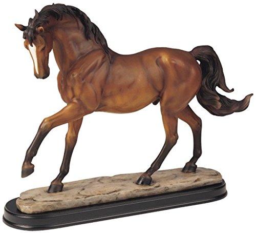 StealStreet SS-G-11437, Brown Horse Figurine Decor - Horse Brown Figurine