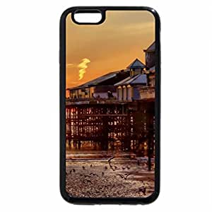 iPhone 6S / iPhone 6 Case (Black) The Pier of Blackpool, England