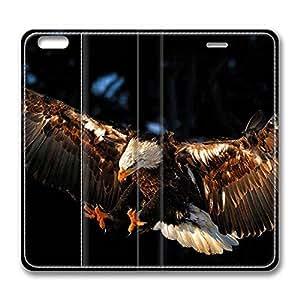 Brain114 6 plus, iPhone 6 plus Case, iPhone 6 plus Case, Hawk 2 PU Leather Flip Protective Skin Case for Apple iPhone 6 plus
