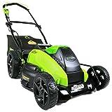 Greenworks 19-Inch 40V Brushless Cordless Lawn Mower, 4.0 AH & 2.0 AH Batteries Included 2500502 greenworks lawn mowers greenworks lawn mowers (reviews & compare prices 2018) 51GjFFTubFL