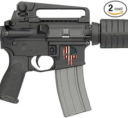 AR15 Lower Decals (US Flag)