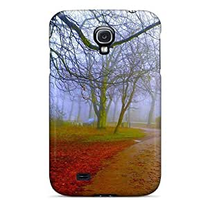 Bernardrmop Premium Protective Hard Case For Galaxy S4- Nice Design - Foggy Park