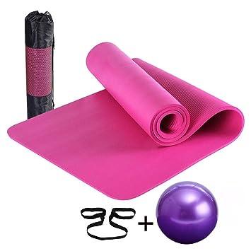 Amazon.com: HONGNA Beginner Yoga Mat Yoga Ball Set Fitness ...
