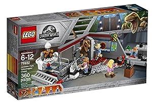 LEGO Jurassic World 75932 Jurassic Park Velociraptor Chase (360 Pieces)