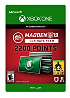 Madden NFL 19: MUT 2200 Madden Points Pack - Xbox One [Digital Code]