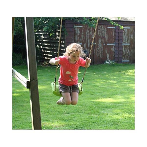 Garden-Games-Altalene-Plastica-Verde-per-Bambini-Verde-Mela