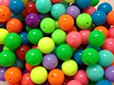 20pc 16mm Assorted Jelly Acrylic Beads Gumball Bubblegum Beads Necklace Beadi...