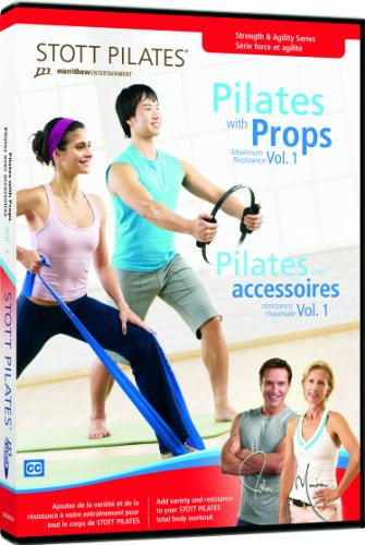 STOTT PILATES Pilates with Props Volume 1 - Warehouse Discount Sports Code