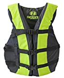 High Visibility Coast Guard Approved Life Jackets for the Whole Family (Super Large Yellow)