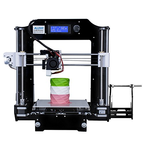 ALUNAR 3D Printer DIY Prusa I3 Kit Mini Self-Assembly Desktop FDM 3D Printing Machine with Heated Bed Build Plate...