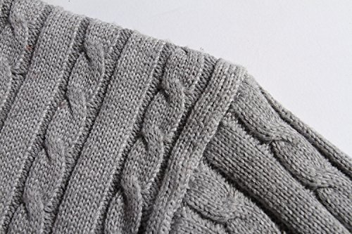 Bstge Mens Warm Crew-Neck Pullover Sweater