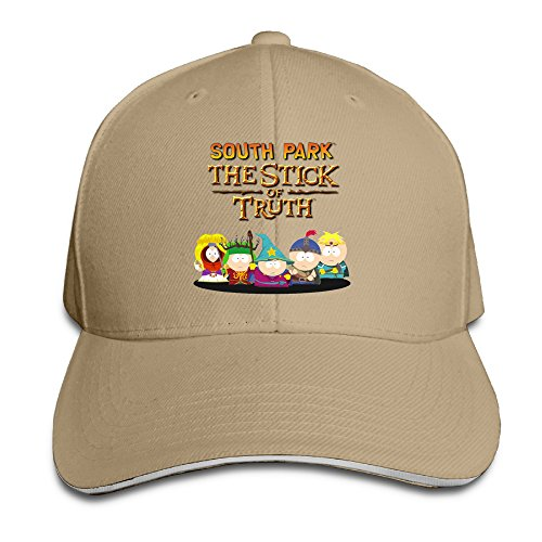 ACMIRAN South Park Adjustable Hats One Size Natural