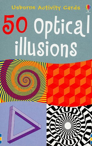 50 Optical Illusions (Usborne Activity Cards)