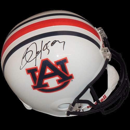 - Bo Jackson Autographed Signed Auto Auburn Tigers Deluxe Full-Size Replica Helmet Jackson Holo - Certified Authentic