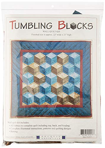 Rachel's Of Greenfield Tumbling Blocks Quilt kit