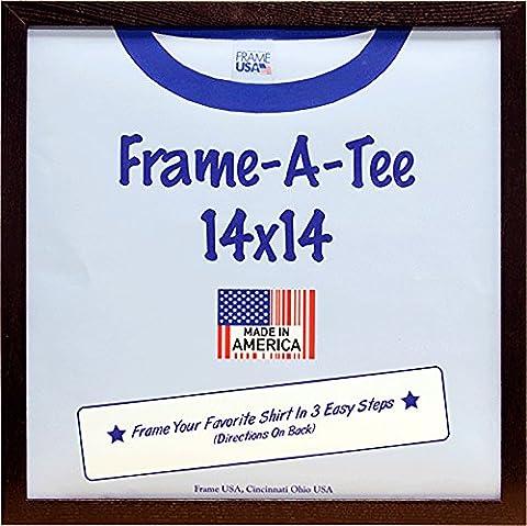 T-Shirt Frame (14x14, Walnut)