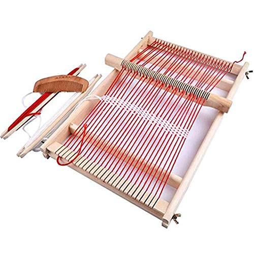 Wooden Multi-Craft Weaving Loom. Large Frame 9.85x 15.75x 1.3 Inches, Handcraft for Kids,Adults ()