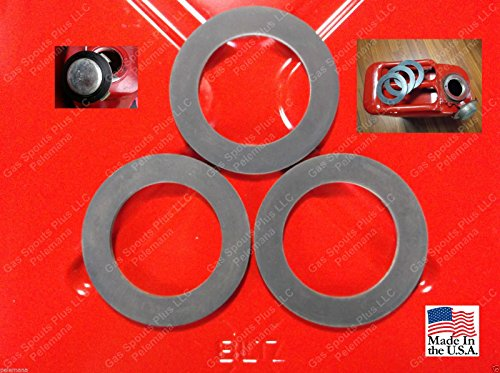 3 Jerry Can GAS CAP GASKETS Gerry 5 Gallon 20L Rubber Fuel ARMY MILITARY (Gas Cap Gasket)