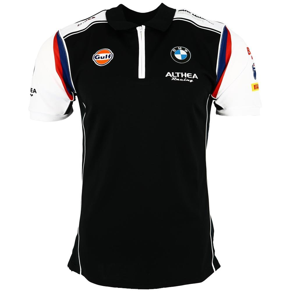 ec13c6dfb 2018 Gulf Althea BMW Mens Polo Shirt Tee S1000 RR Loris Baz ...