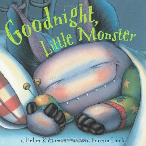 Goodnight, Little Monster (Halloween Preschool Story)