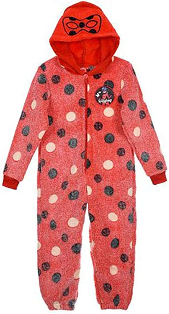 Amazon.com: Miraculous Tales of Ladybug & Cat Noir - Pijama ...