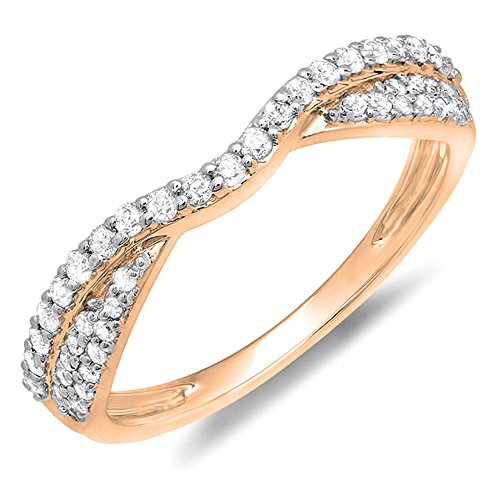 0.36 Ct Diamond Band - 4