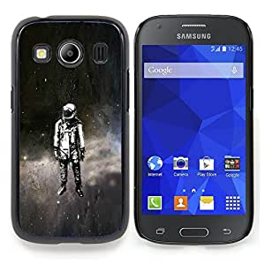 "Qstar Arte & diseño plástico duro Fundas Cover Cubre Hard Case Cover para Samsung Galaxy Ace Style LTE/ G357 (Psychedelic Espacio Astronauta"")"