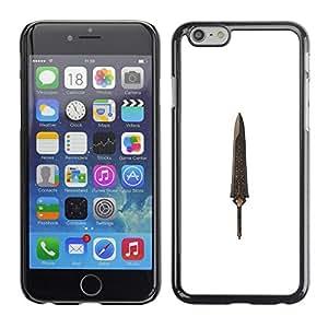 For Apple iPhone 6 Plus(5.5 inches)Case , Dagger Relic Treasure Knife - Diseño Patrón Teléfono Caso Cubierta Case Bumper Duro Protección Case Cover Funda