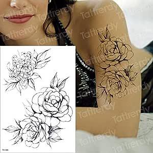 Handaxian Etiqueta engomada del Cuerpo del Tatuaje de la Paz del ...