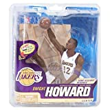 McFarlane NBA Series 22 Dwight Howard Collector Level Silver LA Lakers Figure