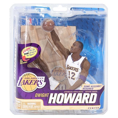 McFarlane NBA Series 22 Dwight Howard Collector Level Silver LA Lakers Figure by Animewild