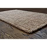 Milliard Handspun 3u0027 X 5u0027 Natural Area Jute Rug, Thick And Sturdy,  Beautiful Look And Matches All Color Schemes, Environmentally Friendly