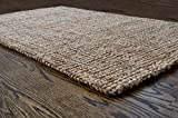 Milliard Handspun 3′ x 5′ Natural Area Jute Rug, Thick and Sturdy, Beautiful look and Matches Schemes, Environmentally Friendly Review