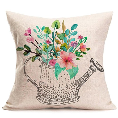 Why Choose Esharing Clearance❤️ Home Decor Decorative Spring Square Cotton Linen Throw Pillow Co...