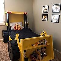 Cama excavadora tractor niño individual