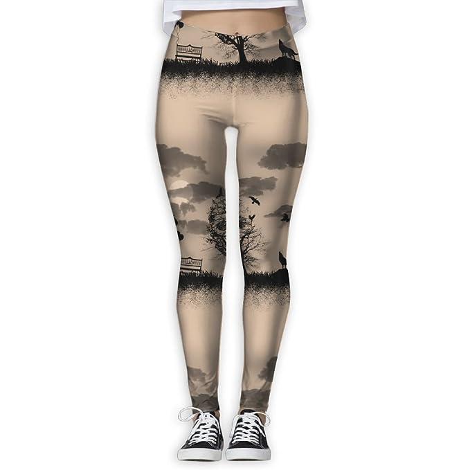 Amazon.com: Leggings para mujer o niña, para yoga, pantalón ...