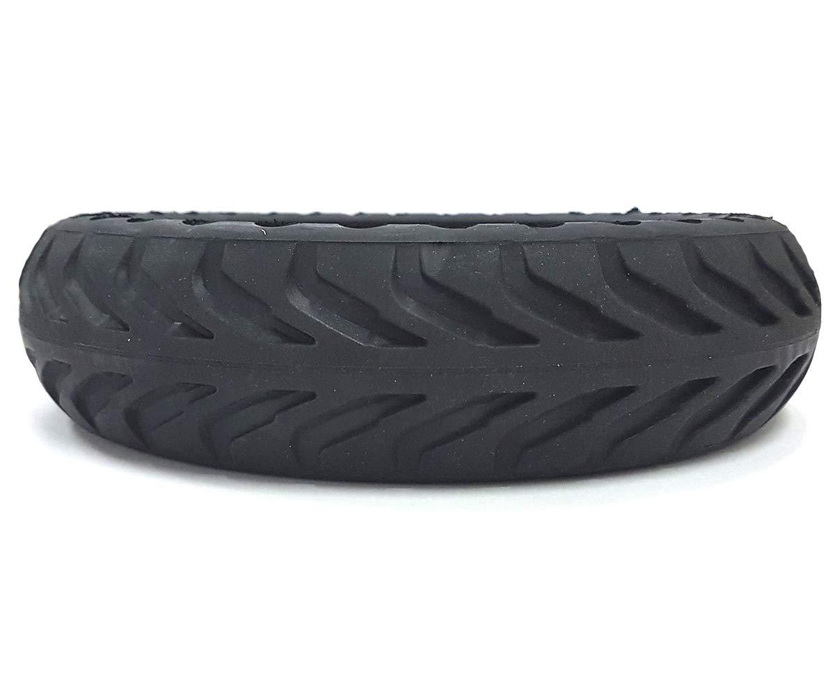 Negro Adultos Unisex Whinck W-NDURO85-XI 2 Neum/áticos Solidos con Sistema Suspensi/ón Xiaomi MiJa 8.5