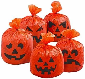 mini hanging leaf bag pumpkin halloween decorations 20ct - Pumpkin Halloween Decorations